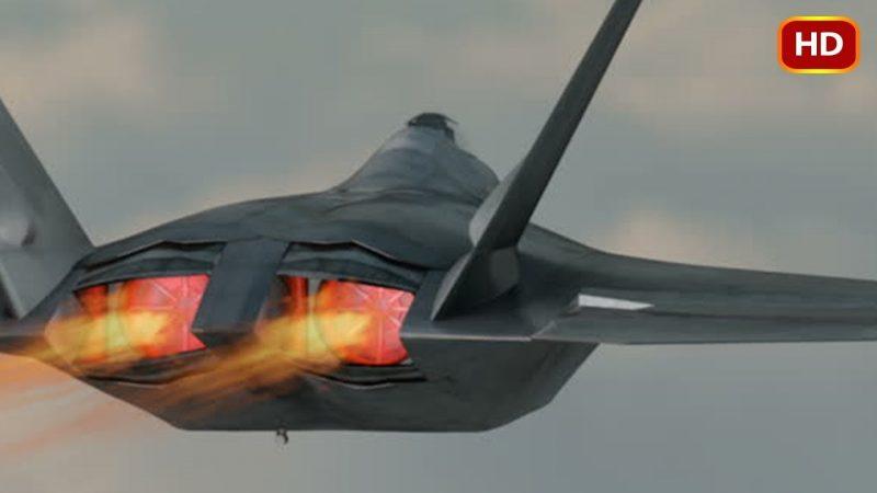 Le F-22 Raptor est appelé Terreur dans le ciel pour une raison. Cette vidéo montre pourquoi.