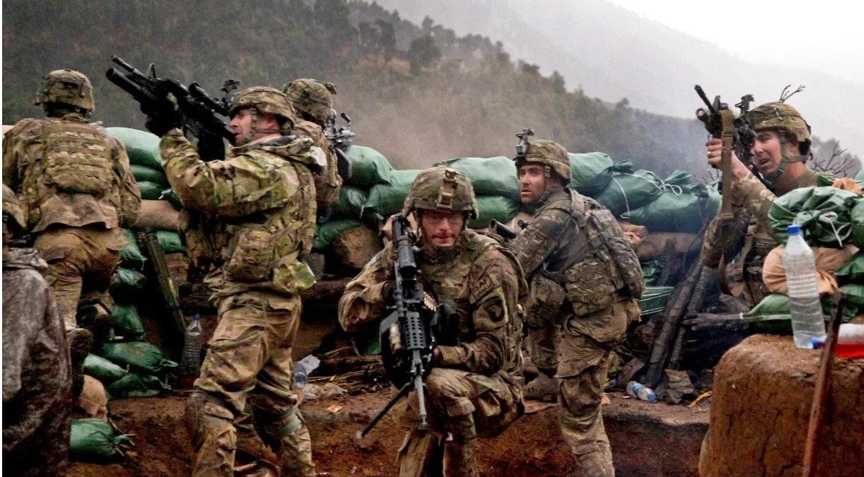 Les soldats américain portent toujours des préservatifs, et non pas pour ça