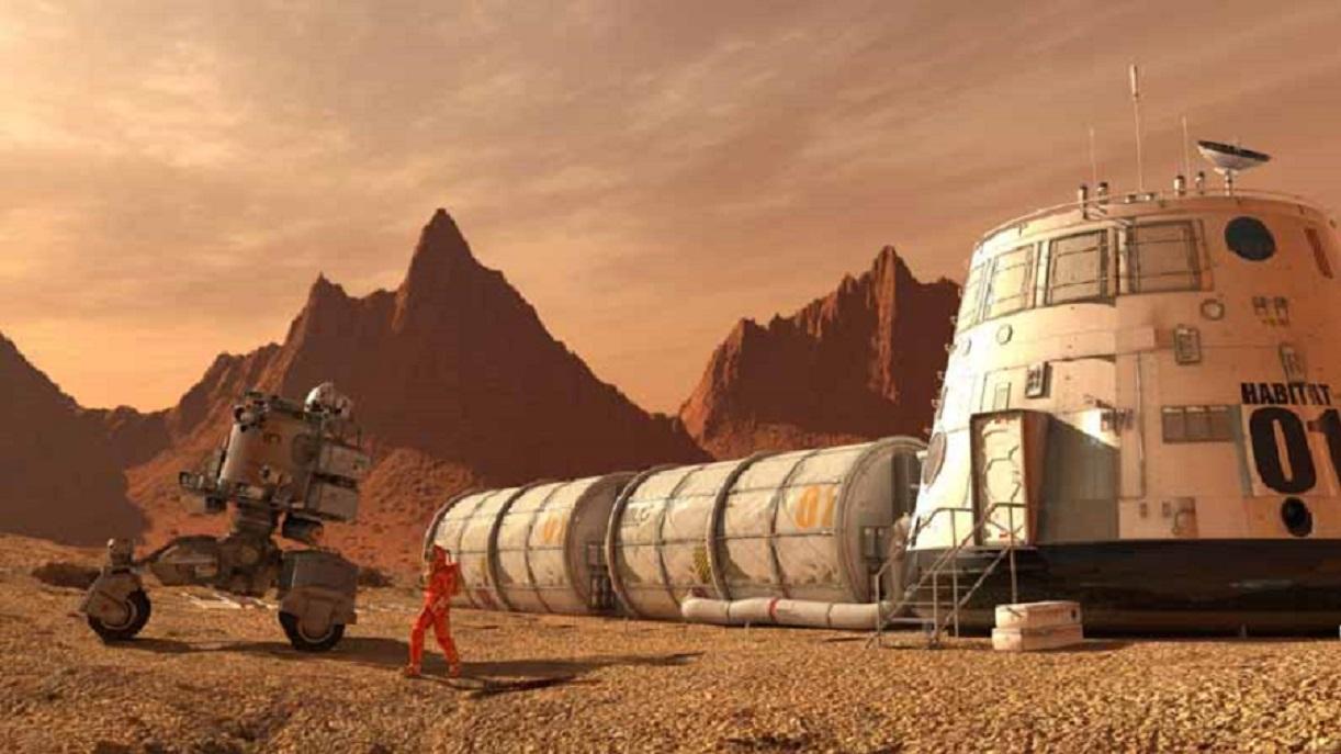 Mars : des chercheurs proposent de construire les habitations avec du sang, de l'urine et des larmes