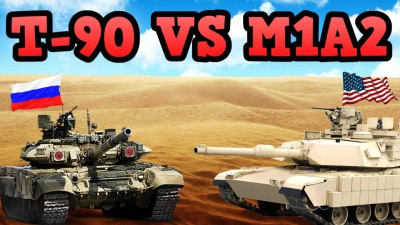 Comment le char américain M1A1 Abrams se comporterait-il contre le T-90 russe ?