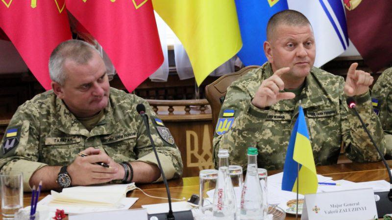 Le chef de l'armée ukrainienne «dit qu'il aimerait annexer la Russie et conduire un char à moscou»